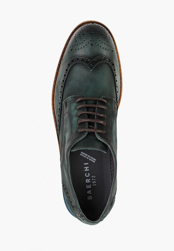 Фото 4 - мужские туфли Baerchi зеленого цвета