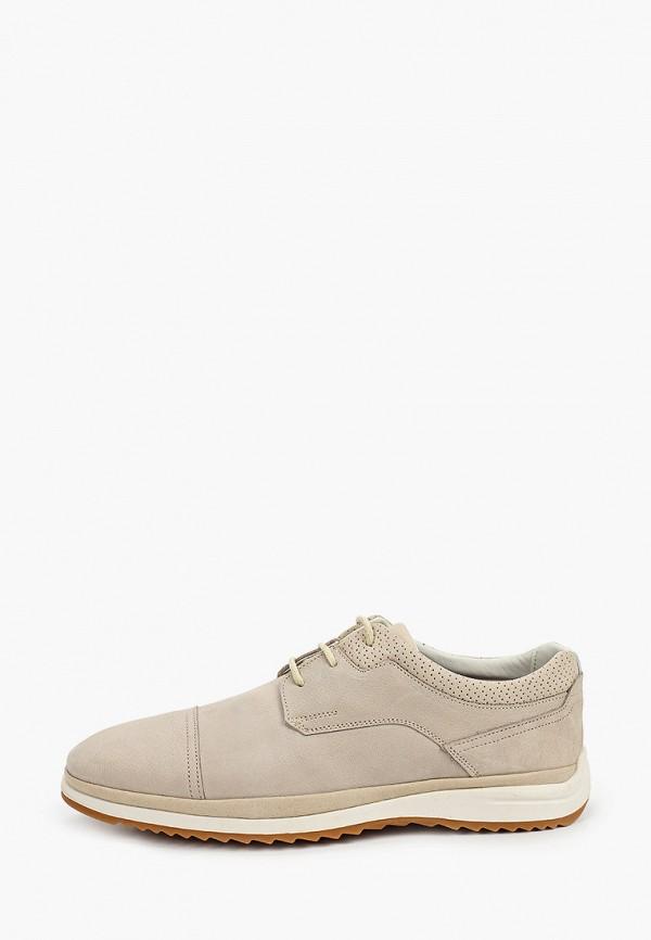 мужские туфли baerchi, бежевые