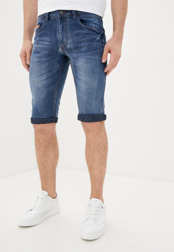 мужские джинсовые шорты backlight, синие