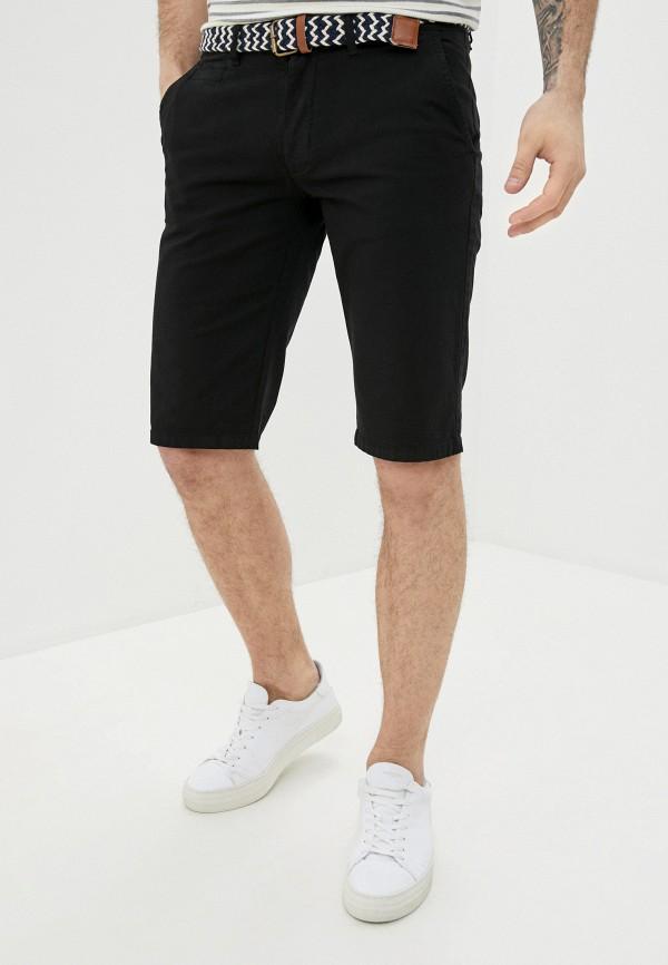мужские повседневные шорты backlight, черные