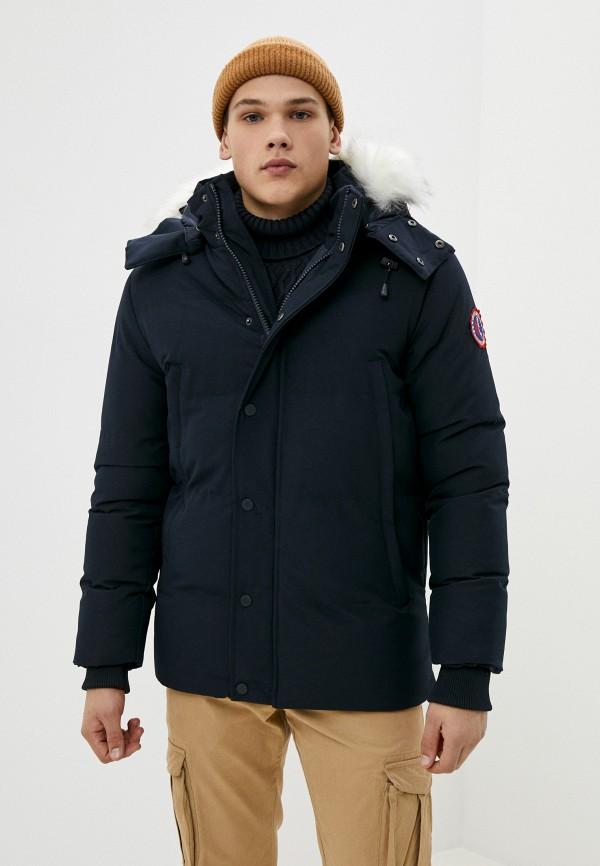 мужская куртка backlight, синяя
