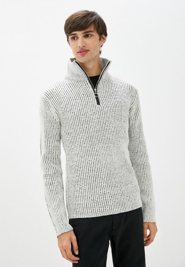 мужской свитер backlight, белый