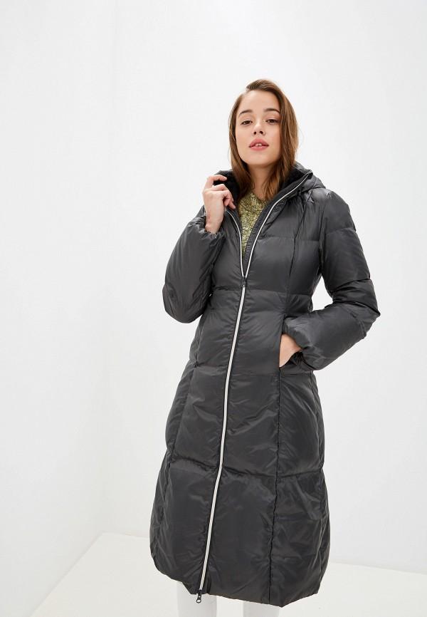 женский пуховик bask, серый