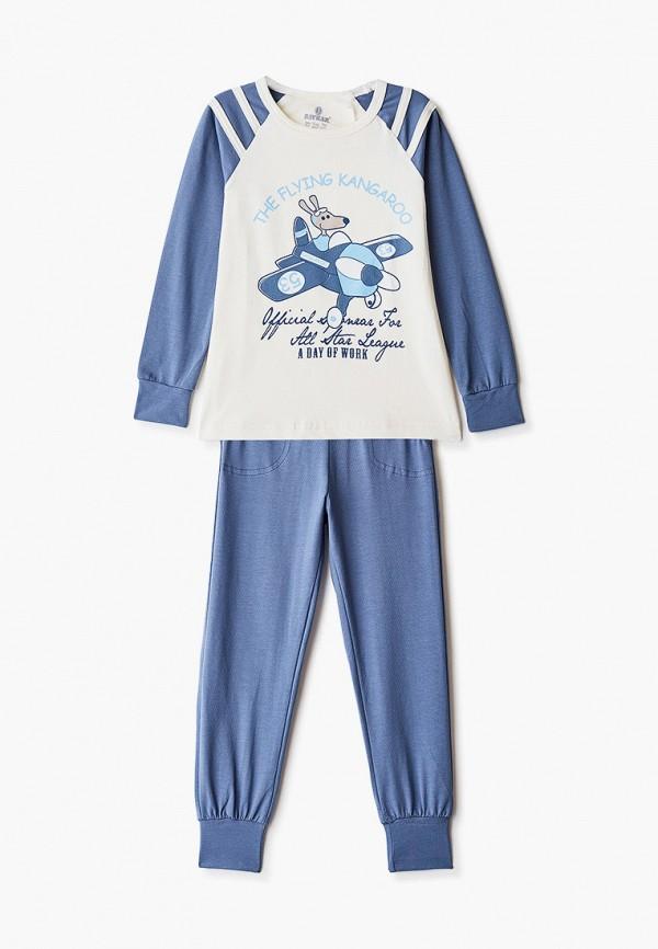 пижама baykar для мальчика, синяя