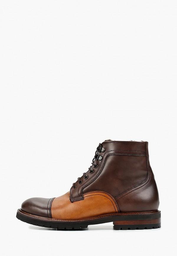 мужские ботинки baltarini, коричневые