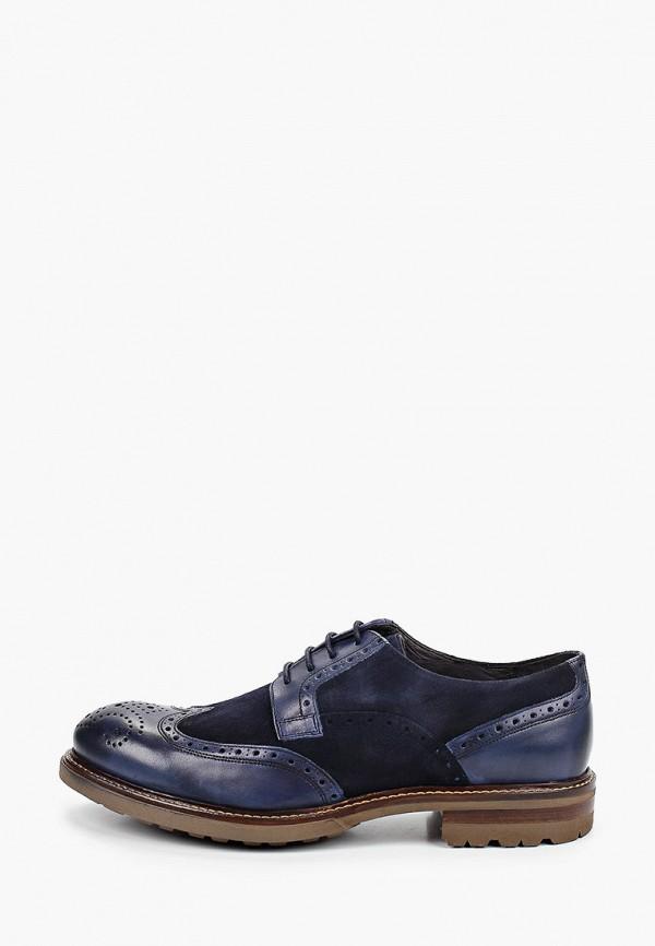 мужские туфли baltarini, синие