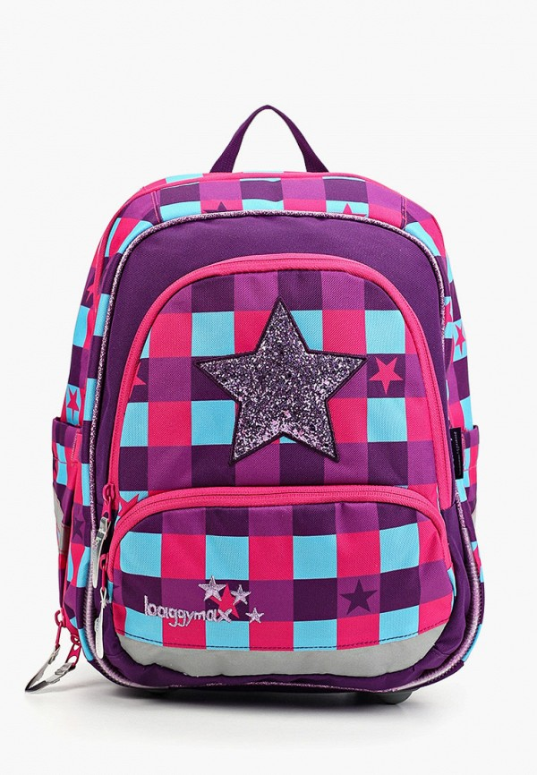 рюкзак baggymax для девочки, розовый