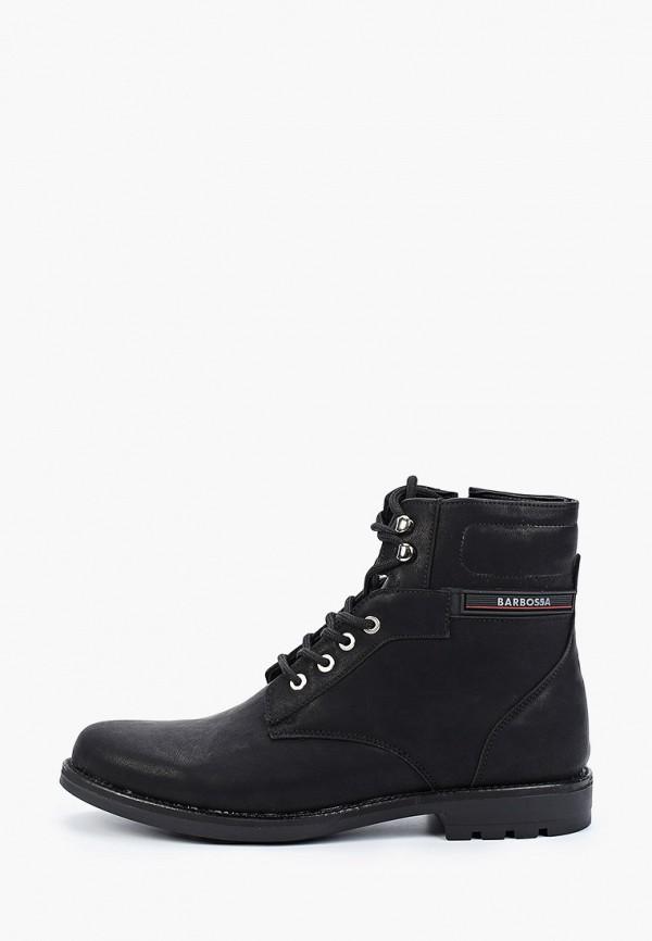 мужские ботинки barbossa, черные