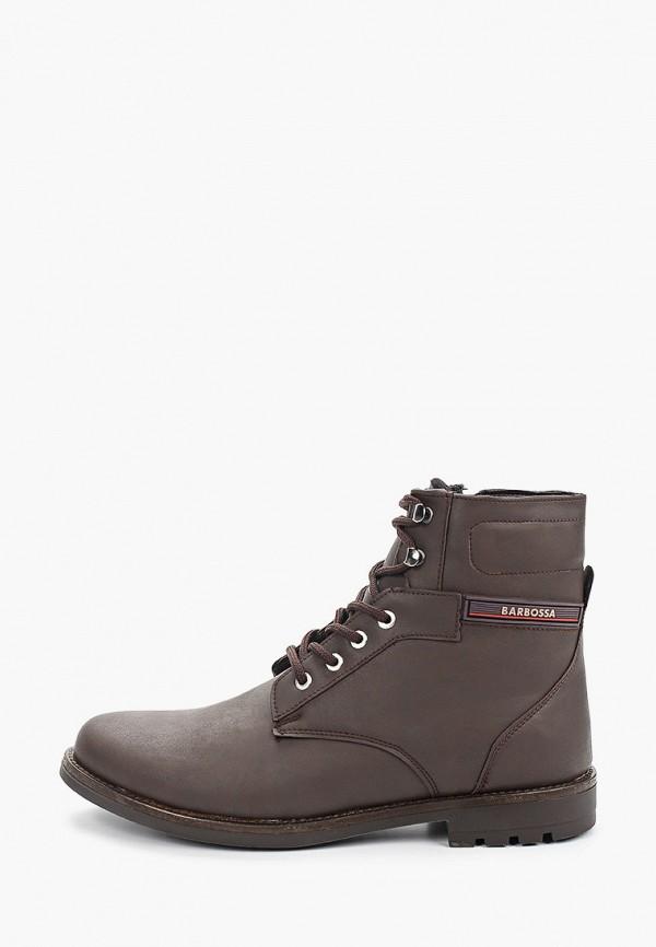 мужские ботинки barbossa, коричневые
