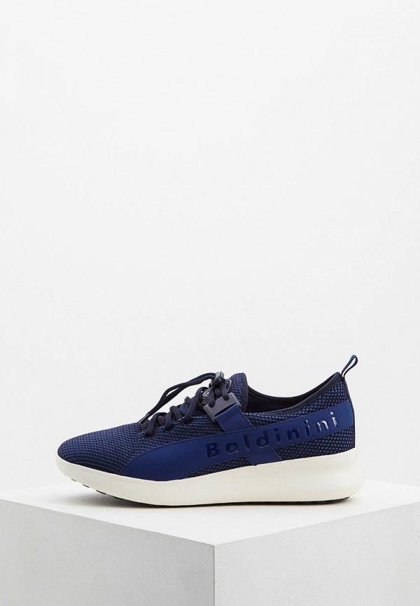 мужские кроссовки baldinini, синие