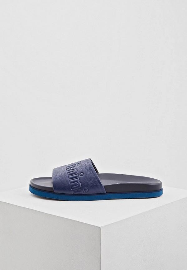 мужские сандалии baldinini, синие