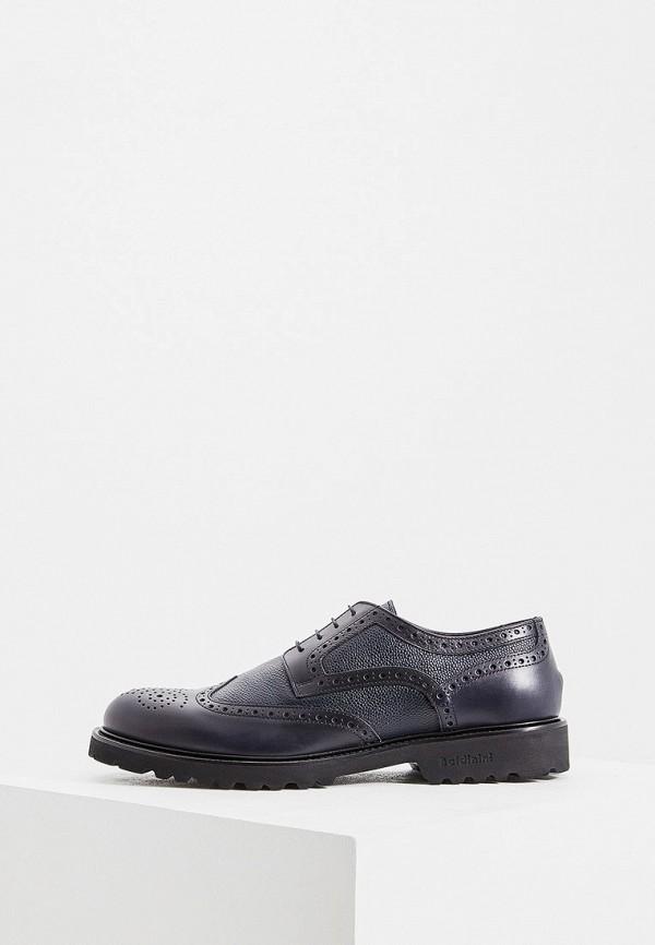 мужские туфли baldinini, синие