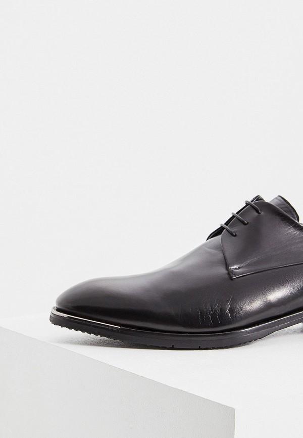 Фото 2 - мужские туфли Baldinini черного цвета