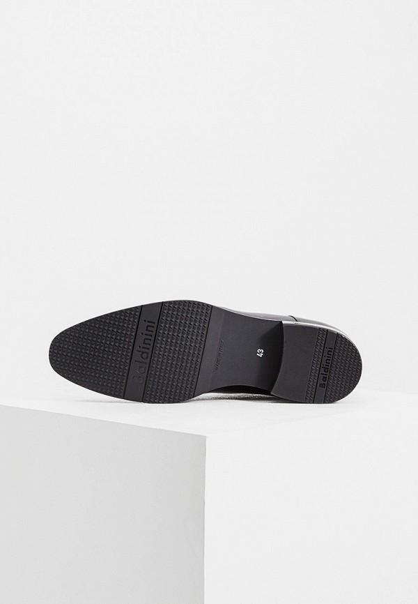 Фото 3 - мужские туфли Baldinini черного цвета