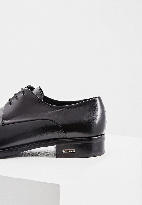 Фото 4 - мужские туфли Baldinini черного цвета
