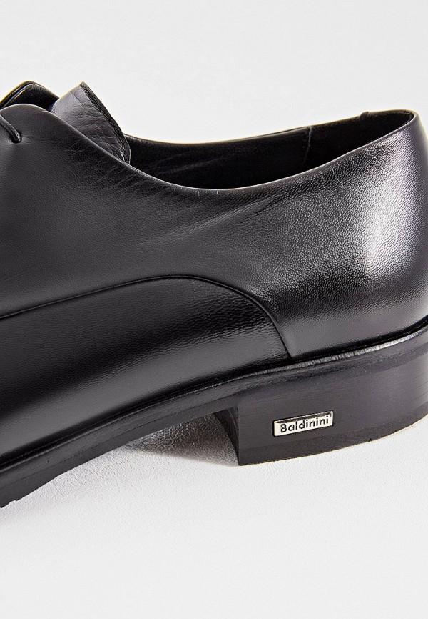 Фото 5 - мужские туфли Baldinini черного цвета