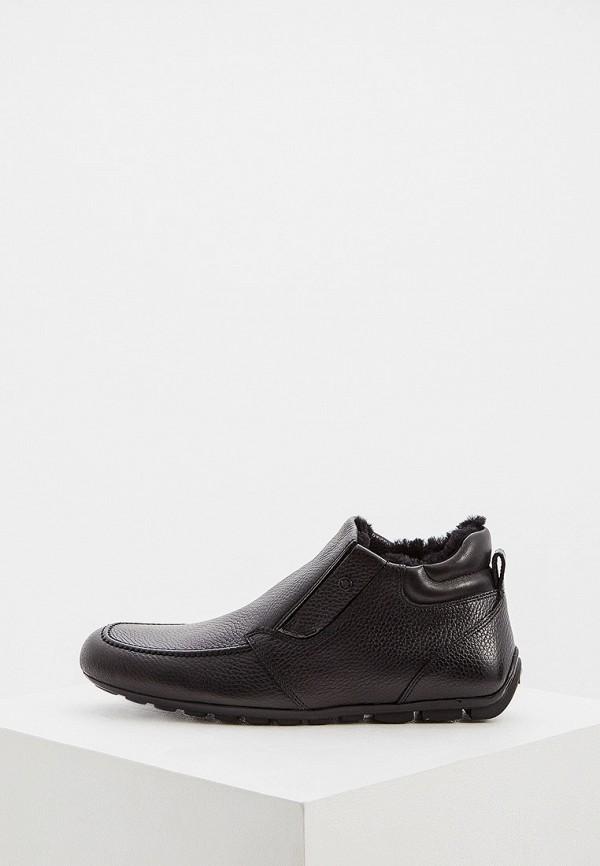 мужские высокие ботинки baldinini, черные