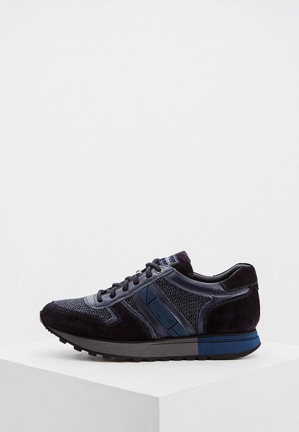 мужские низкие кроссовки baldinini, синие