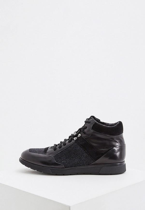 мужские высокие ботинки baldinini