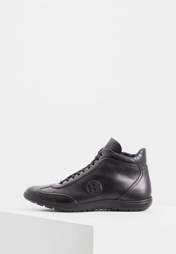 Фото - мужские кроссовки Baldinini черного цвета