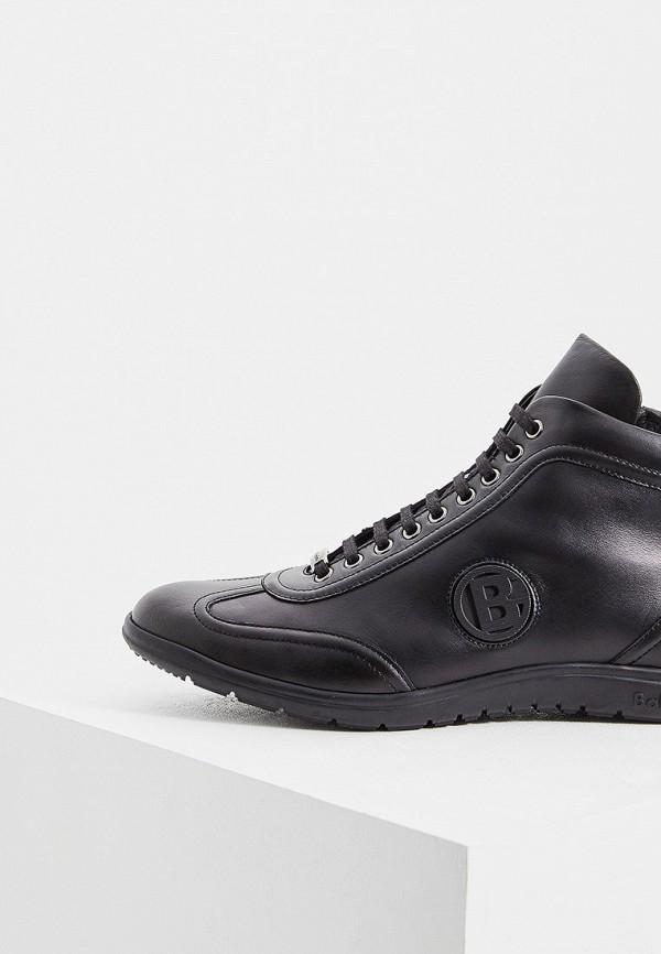 Фото 2 - мужские кроссовки Baldinini черного цвета
