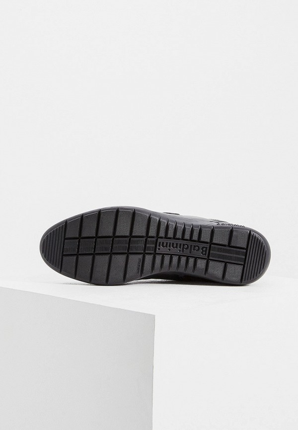 Фото 3 - мужские кроссовки Baldinini черного цвета