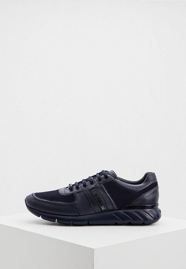 мужские низкие кроссовки baldinini, черные