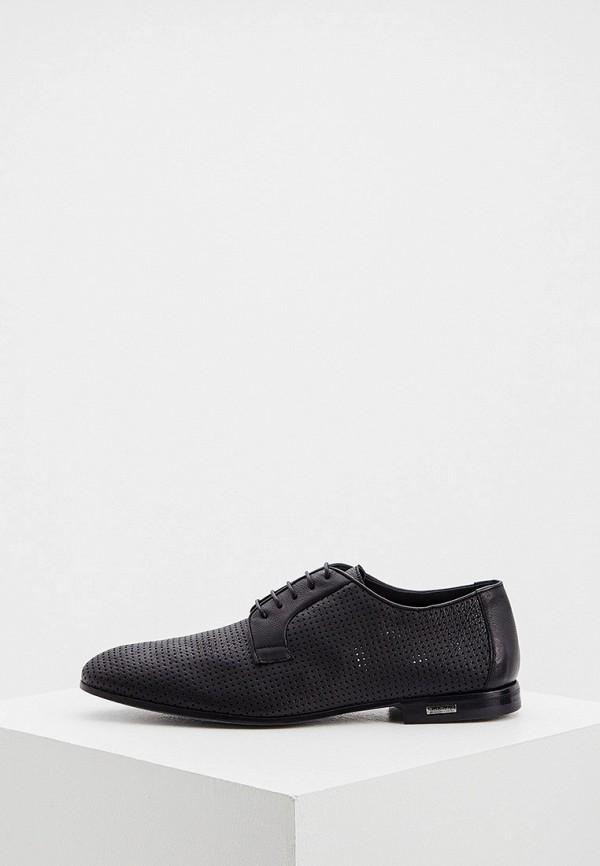 мужские туфли-дерби baldinini, черные