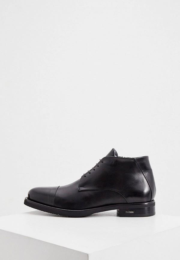 мужские ботинки baldinini, черные