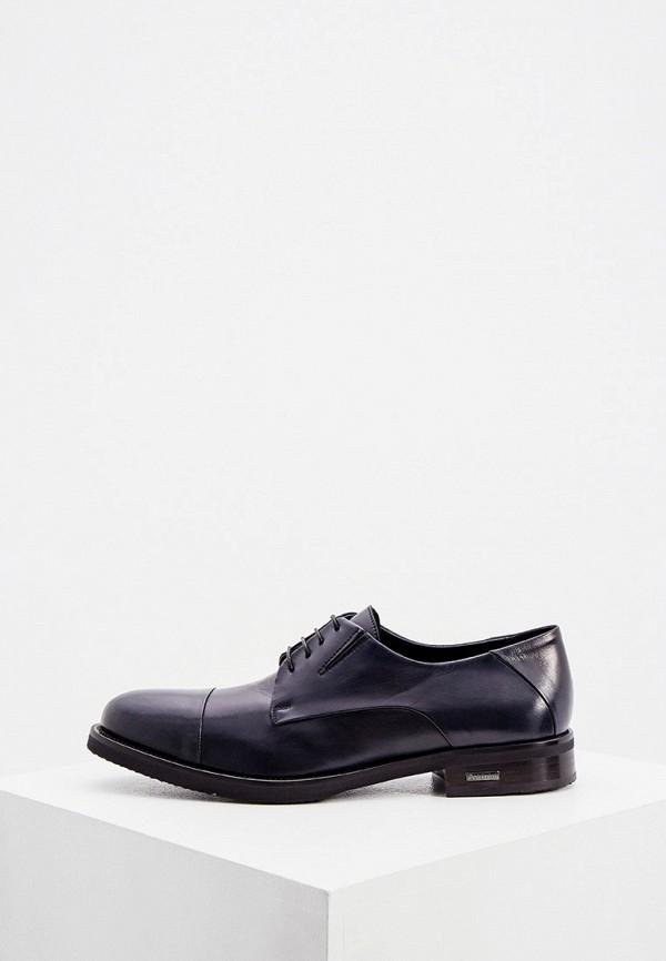 мужские туфли-дерби baldinini, синие
