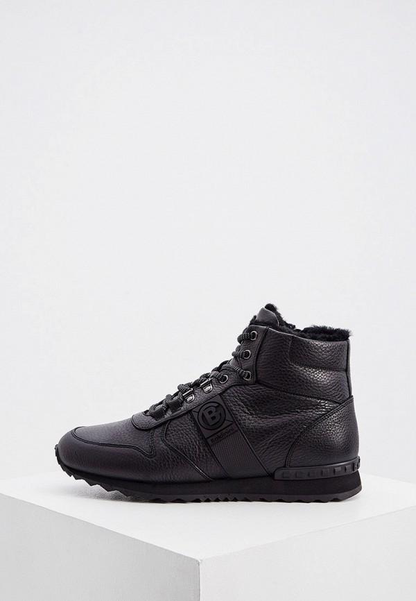 мужские кроссовки baldinini, черные