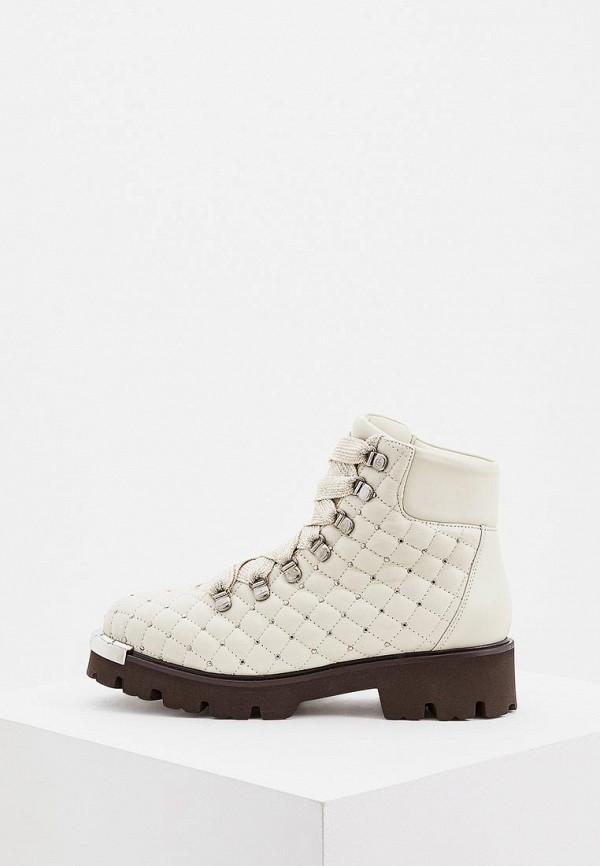 Купить Ботинки Baldinini, ba097awcegm3, бежевый, Осень-зима 2018/2019