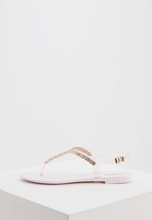 Фото - женские сандали Baldinini розового цвета