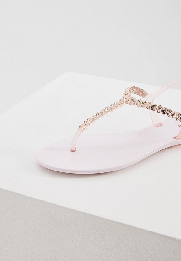 Фото 2 - женские сандали Baldinini розового цвета