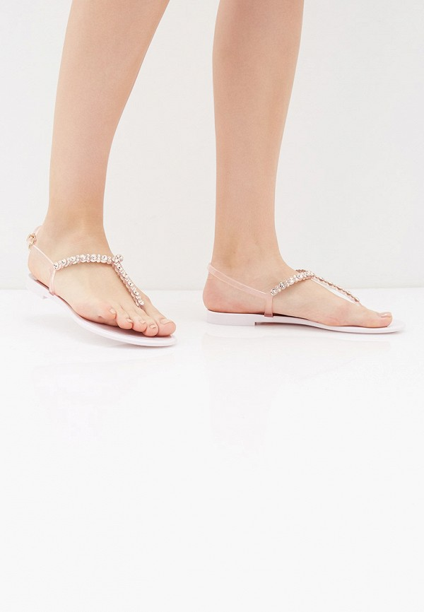 Фото 6 - женские сандали Baldinini розового цвета