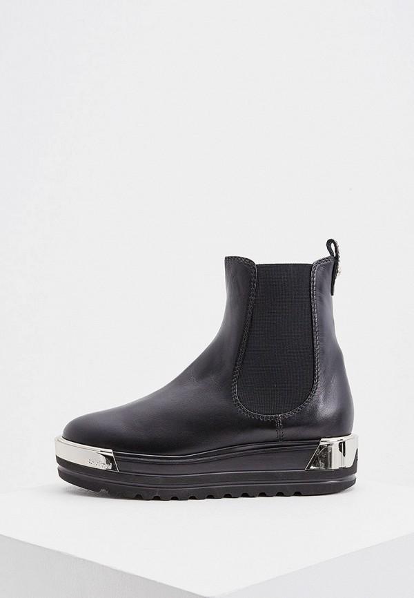 женские ботинки-челси baldinini, черные