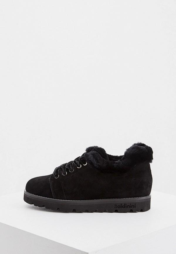 женские ботинки baldinini, черные