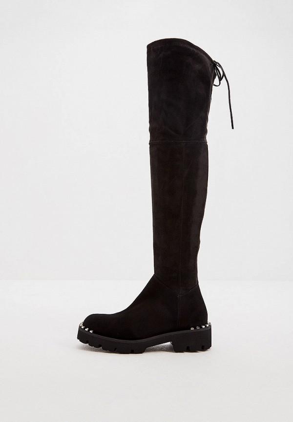 женские ботфорты baldinini, черные