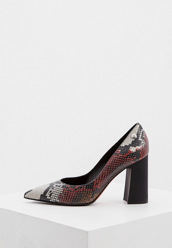 женские туфли с закрытым носом baldinini, красные