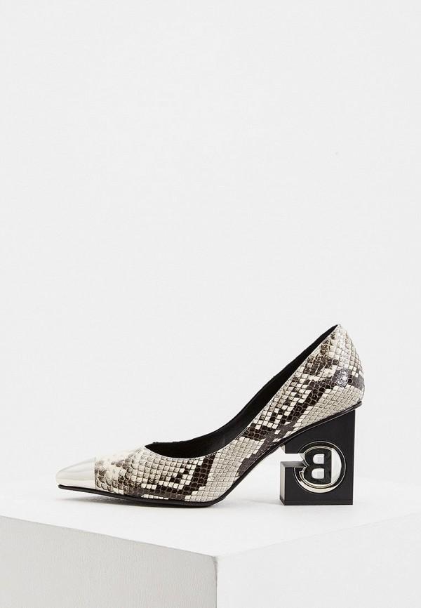 женские туфли baldinini, серые
