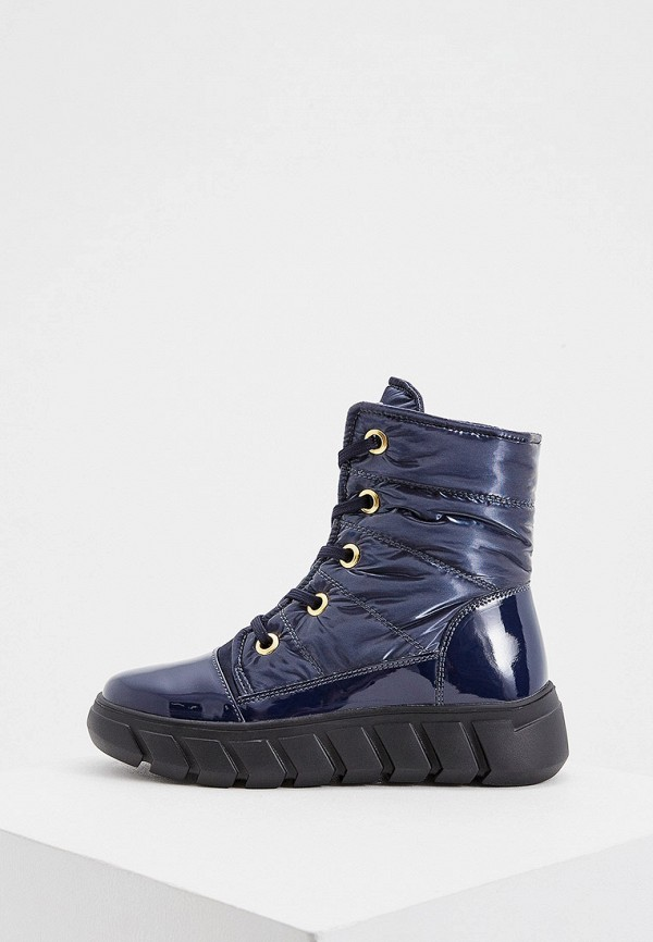 женские ботинки baldinini, синие