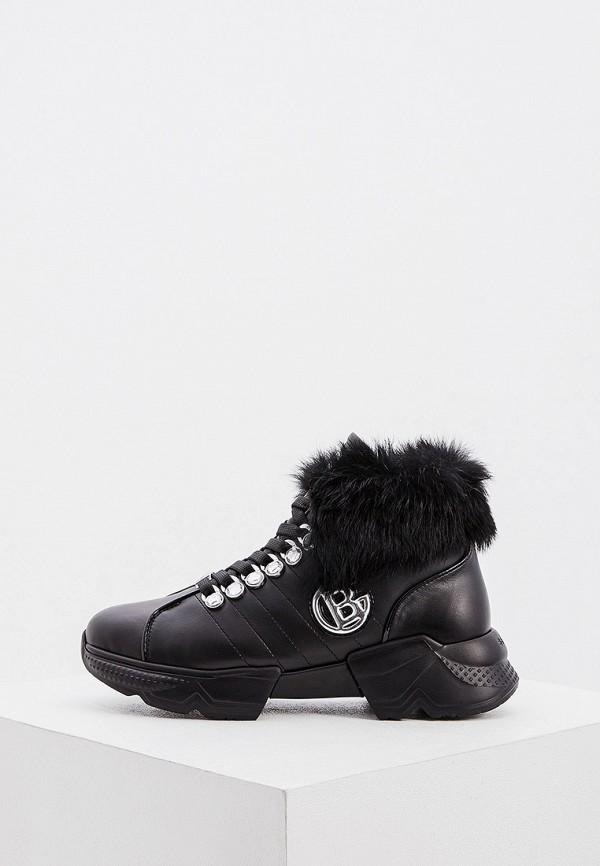 женские кроссовки baldinini, черные