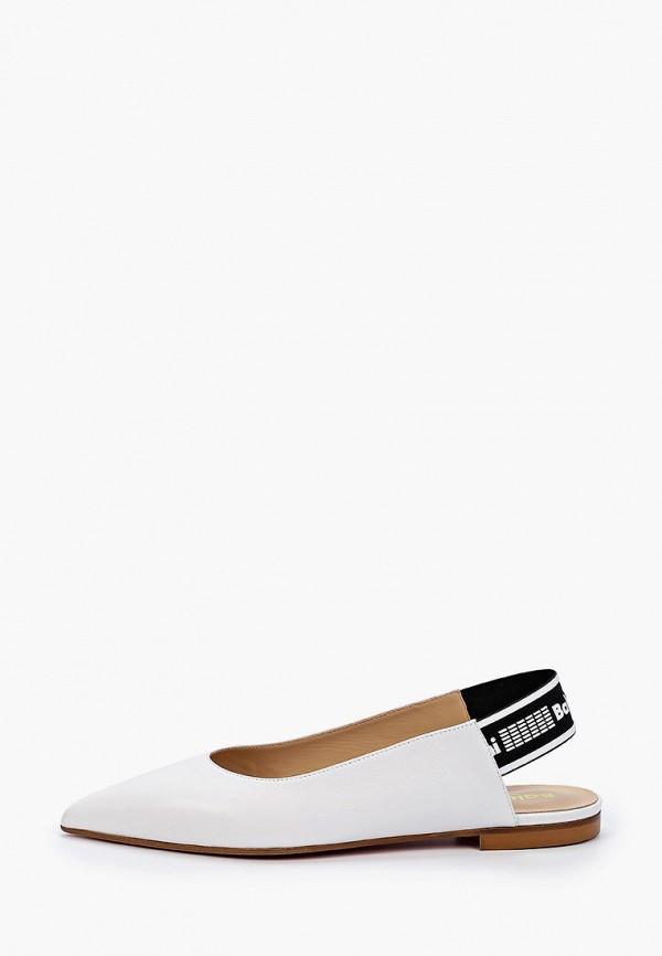 женские туфли baldinini, белые
