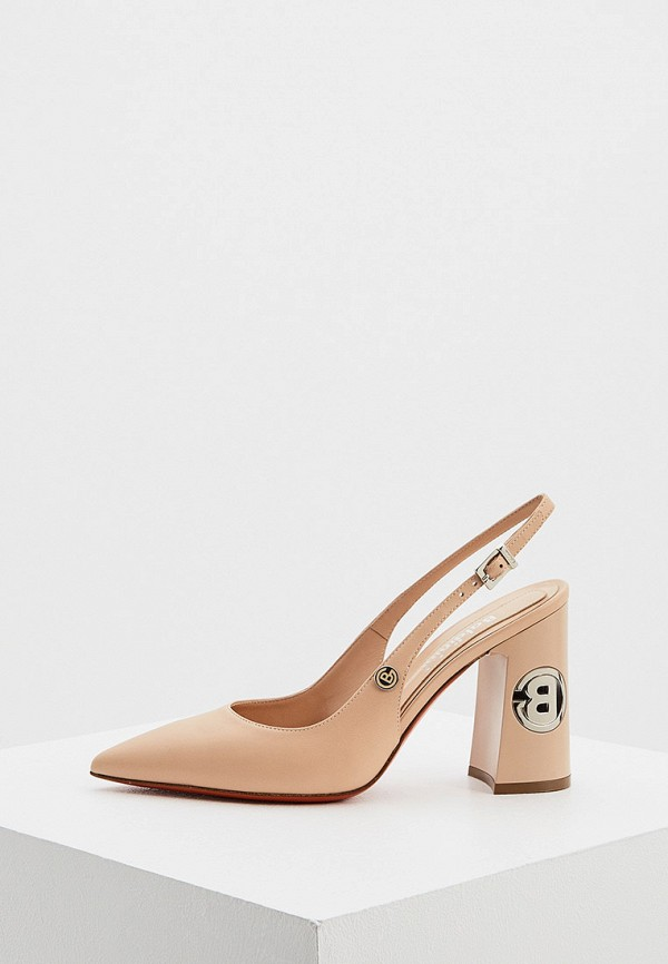 женские туфли baldinini, бежевые