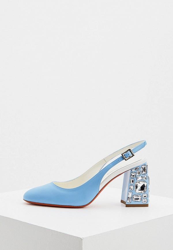 женские туфли baldinini, голубые