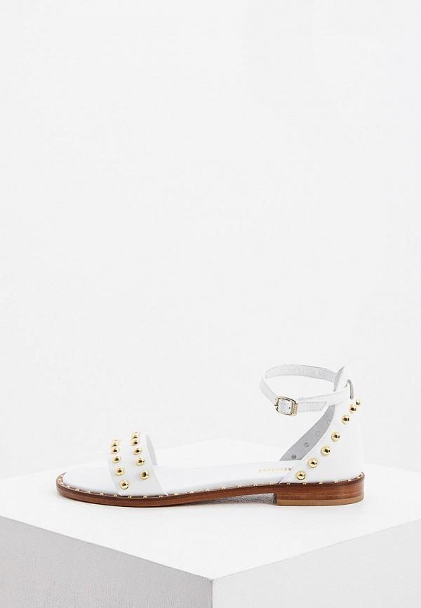 женские сандалии baldinini, белые