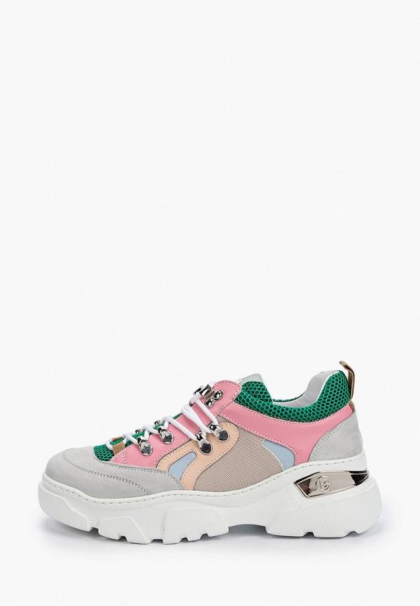 женские кроссовки baldinini, разноцветные
