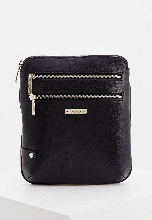 мужская сумка через плечо baldinini, черная