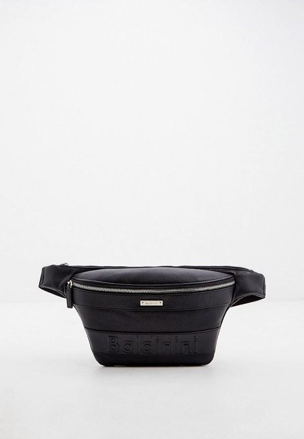 мужская поясные сумка baldinini, черная