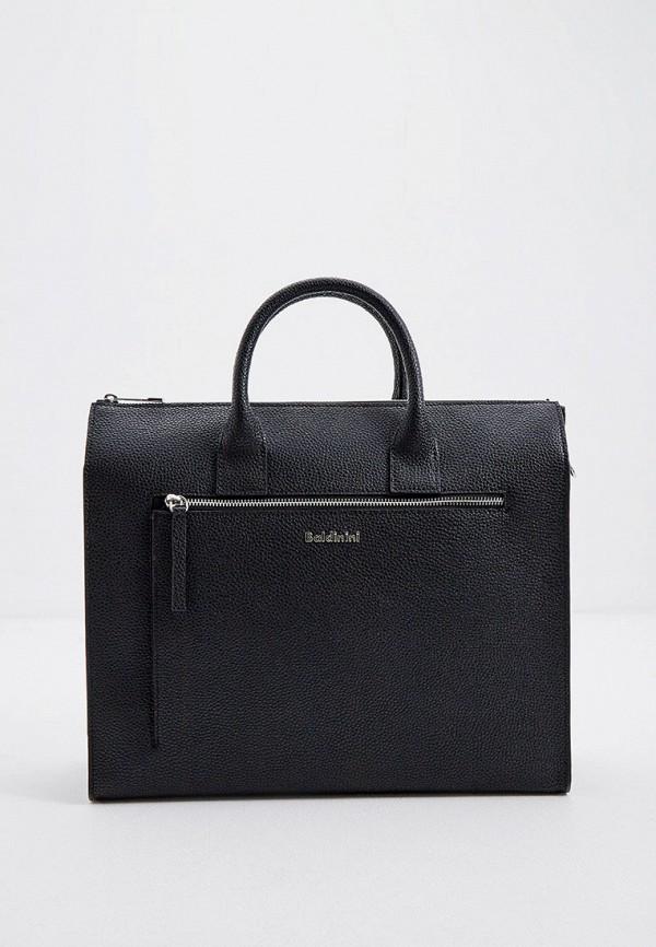 мужская сумка baldinini, черная